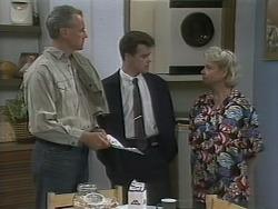 Jim Robinson, Paul Robinson, Helen Daniels in Neighbours Episode 1138