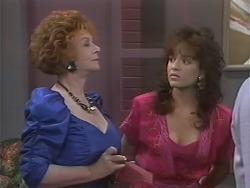 Gloria Lewis, Christina Alessi in Neighbours Episode 1138