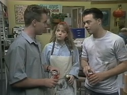Nick Page, Lee Maloney, Matt Robinson in Neighbours Episode 1139