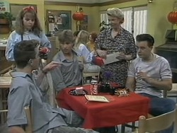 Nick Page, Lee Maloney, Ryan McLachlan, Helen Daniels, Matt Robinson in Neighbours Episode 1139