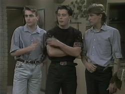 Nick Page, Matt Robinson, Ryan McLachlan in Neighbours Episode 1140