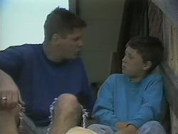 Joe Mangel, Toby Mangel in Neighbours Episode 1142