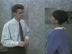 Paul Robinson, Hilary Robinson in Neighbours Episode 1142