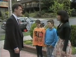 Paul Robinson, Lochy McLachlan, Toby Mangel, Kerry Bishop in Neighbours Episode 1142