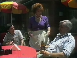Gloria Lewis, Paddy in Neighbours Episode 1143