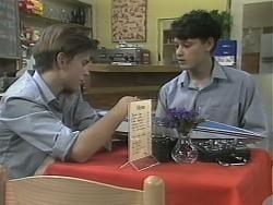 Todd Landers, Josh Anderson in Neighbours Episode 1143