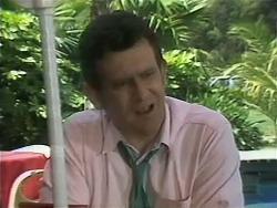 Des Clarke in Neighbours Episode 1143