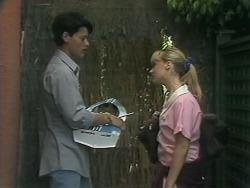 Josh Anderson, Melissa Jarrett in Neighbours Episode 1143