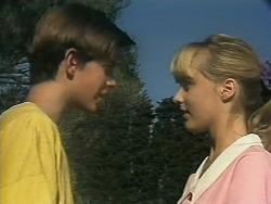 Todd Landers, Melissa Jarrett in Neighbours Episode 1143