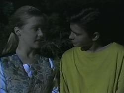 Melissa Jarrett, Todd Landers in Neighbours Episode 1143