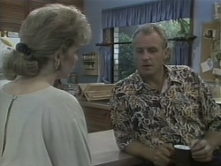 Beverly Marshall, Jim Robinson in Neighbours Episode 1144