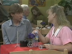 Ryan McLachlan, Sharon Davies in Neighbours Episode 1144