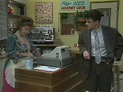Gloria Lewis, Paul Robinson in Neighbours Episode 1145