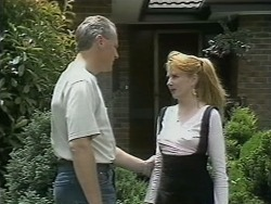 Jim Robinson, Melanie Pearson in Neighbours Episode 1145