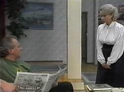 Jim Robinson, Helen Daniels in Neighbours Episode 1330