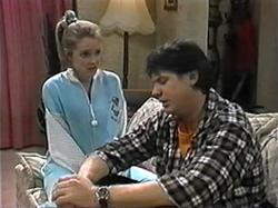 Melanie Pearson, Joe Mangel in Neighbours Episode 1330