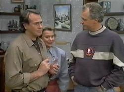 Doug Willis, Helen Daniels, Jim Robinson in Neighbours Episode 1330