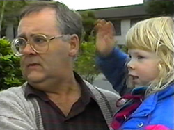 Harold Bishop, Sky Mangel in Neighbours Episode 1331