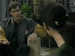 Ryan McLachlan, Dorothy Burke in Neighbours Episode 1335