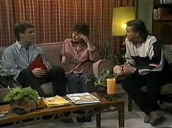 Adam Willis, Pam Willis, Doug Willis in Neighbours Episode 1335