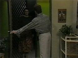Dorothy Burke, Adam Willis in Neighbours Episode 1335