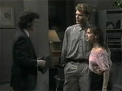 Rory Marsden, Adam Willis, Caroline Alessi in Neighbours Episode 1335