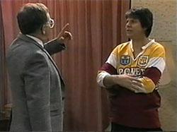 Harold Bishop, Joe Mangel in Neighbours Episode 1335