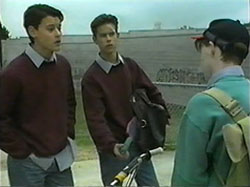 Josh Anderson, Todd Landers, Thug in Neighbours Episode 1336