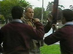 Josh Anderson, Jim Robinson, Todd Landers in Neighbours Episode 1336