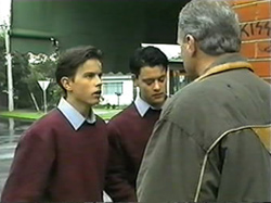 Todd Landers, Josh Anderson, Jim Robinson in Neighbours Episode 1337