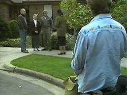 Jim Robinson, Helen Daniels, Doug Willis, Dorothy Burke, Ryan McLachlan in Neighbours Episode 1337