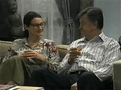Dorothy Burke, John Brice in Neighbours Episode 1337