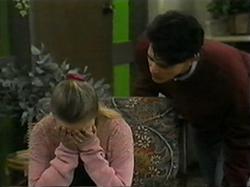 Melissa Jarrett, Josh Anderson in Neighbours Episode 1337