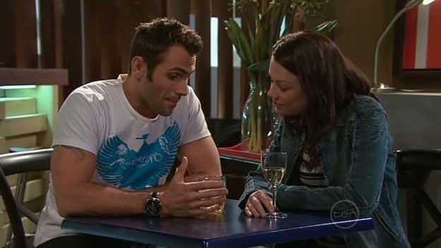 Adam Rhodes, Snr. Const. Sophie Cooper in Neighbours Episode 5310