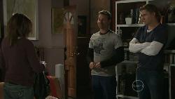 Libby Kennedy, Lucas Fitzgerald, Dan Fitzgerald in Neighbours Episode 5546