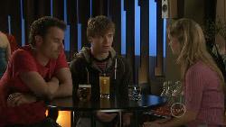 Lucas Fitzgerald, Ringo Brown, Elle Robinson in Neighbours Episode 5546