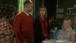 Bridget Parker, Steve Parker, Miranda Parker, Nicola West in Neighbours Episode 5550