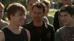 Ringo Brown, Lucas Fitzgerald, Declan Napier in Neighbours Episode 5553