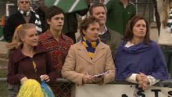 Elle Robinson, Zeke Kinski, Susan Kennedy, Paul Robinson, Rebecca Napier in Neighbours Episode 5554