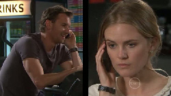 Lucas Fitzgerald, Elle Robinson in Neighbours Episode 5556