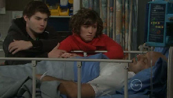 Declan Napier, Bridget Parker, Steve Parker in Neighbours Episode 5557