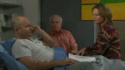 Steve Parker, Lou Carpenter, Miranda Parker in Neighbours Episode 5561