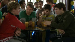 Ringo Brown, Lucas Fitzgerald, Zeke Kinski, Declan Napier in Neighbours Episode 5561