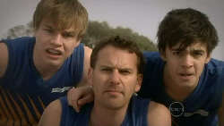 Ringo Brown, Lucas Fitzgerald, Zeke Kinski in Neighbours Episode 5562