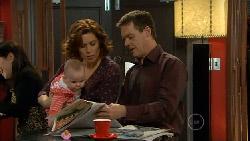 India Napier, Rebecca Napier, Paul Robinson in Neighbours Episode 5828
