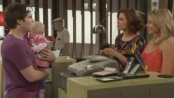 Declan Napier, India Napier, Rebecca Napier, Donna Freedman in Neighbours Episode 5868