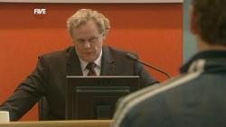 Magistrate Paul O'Regan, Lucas Fitzgerald in Neighbours Episode 5868