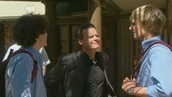 Harry Ramsay, Paul Robinson, Andrew Robinson in Neighbours Episode 5869