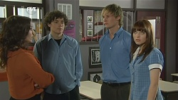 Libby Kennedy, Harry Ramsay, Andrew Robinson, Summer Hoyland in Neighbours Episode 5870