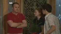 Karl Kennedy, Mia Zannis, Zeke Kinski in Neighbours Episode 5870